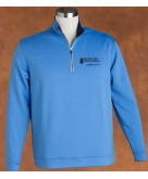 Pebble Beach 1/4 Zip Windshirt Regatta Blue