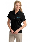Ladies Camp Shirt Black