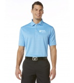 Callaway Textured Performance Polo Pool Blue